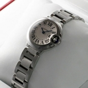 ブランド カルティエ時計スーパーコピー バロンブルー レディース スティール W69010Z4