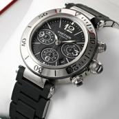 ブランド カルティエ時計スーパーコピー パシャ シータイマー クロノグラフ W31088U2