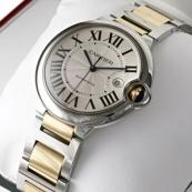 ブランド カルティエ時計スーパーコピー バロン ブルー ドゥ メンズ コンビ W69009Z3