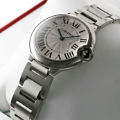 ブランド カルティエ時計スーパーコピー バロン ブルー ドゥ ボーイズ スティール W69011Z4