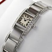 ブランド カルティエ時計スーパーコピー タンキッシム ウォッチ WE7007MM