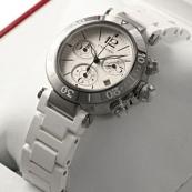 ブランド カルティエ時計スーパーコピー パシャ シータイマー レディー クロノグラフ W3140005