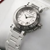 ブランド カルティエ時計スーパーコピー パシャ シータイマー レディー(ミニ) W3140002