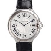 カルティエ コピー時計 エクストラフラットバロン ブルー46mm W6920055
