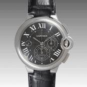カルティエ コピー時計 バロンブルークロノ W6920052