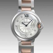 カルティエ コピー時計 バロンブルー 37mm WE902031