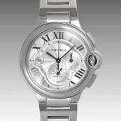 カルティエ コピー時計 バロンブルークロノ W6920002