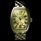 FRANCK MULLER フランクミュラー 時計 偽物 征服者「第3の典型的な白いダイヤル 8002SC
