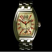 FRANCK MULLER フランクミュラー 時計 偽物 コンキスタドール ライジングサン 8005HSCRSUN