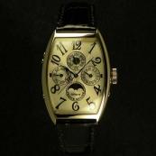FRANCK MULLER フランクミュラー 時計 偽物 トノウカーベックス パーぺチュアルカレンダー ギョーシェダイヤル 5850QP24