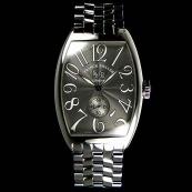 FRANCK MULLER フランクミュラー 偽物時計 トノウカーベックス グランギシェ グレイ 6850S6GG