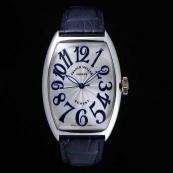 FRANCK MULLER フランクミュラー 時計 偽物 トノウカーベックス サンセット プラチナ 5850SCSUN