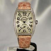 FRANCK MULLER フランクミュラー 時計 偽物 トノウカーベックス サンセットレディース ダイヤモンド 1750S6DSUN