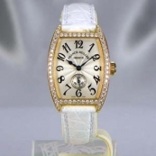 FRANCK MULLER フランクミュラー 時計 偽物 トノウカーベックス レディース ダイヤモンド 1750S6DP