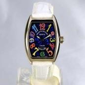 FRANCK MULLER フランクミュラー 時計 偽物 トノウカーベックス レディース カラードリーム ブルー 1750S6COLDREAMS