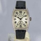 FRANCK MULLER フランクミュラー 時計 偽物 トノウカーベックス ダイヤモンド レディース 1750S6D