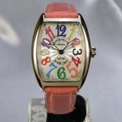FRANCK MULLER フランクミュラー 時計 偽物 トノウカーベックス カラードリームス 7502QZCOLDREAMS