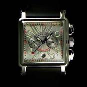 FRANCK MULLER フランクミュラー 時計 偽物 コンキスタドールコルテス 2カウンタークロノグラフ 10000(H)CC