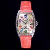 FRANCK MULLER フランクミュラー スーパーコピー時計 トノウカーベックス カラードリームス ダイヤモンド 1750DPCOLDREAMS