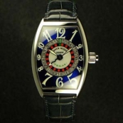 FRANCK MULLER フランクミュラー スーパーコピー時計 ヴェガス ブルーダイヤル 5850VEGAS