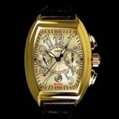 FRANCK MULLER フランクミュラー スーパーコピー時計 コンキスタドール キング クロノグラフ(Dバックル付き)8005CCKING