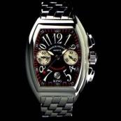 FRANCK MULLER フランクミュラースーパーコピー時計 コンキスタドールキングクロノグラフ(Dバックル付き)8005CCKING