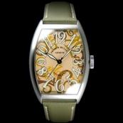 フランク・ミュラー コピー 時計 カサブランカ カモフラージュ ベージュ 5850CBRCAMOU AC Beige
