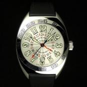 フランク・ミュラー コピー 時計 トランスアメリカ ワールドワイド 2000WW AC White