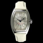 フランク・ミュラー コピー 時計 コンキスタドール レディース 8005LQZ White
