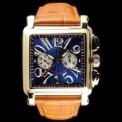 フランク・ミュラー コピー 時計 コンキスタドールコルテス 2カウンタークロノグラフ10000CC 3N Blue