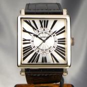 フランク・ミュラー コピー 時計 マスタースクエアー キング 6000KSCDT OG White