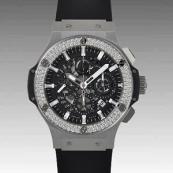 ウブロ スーパーコピー ビッグバン アエロバン スチール ダイヤモンド 311.SX.1170.RX.1104 腕時計 メンズ 人気