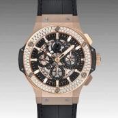 ウブロ スーパーコピー ビッグバン アエロバン ゴールド ダイヤモンド 311.PX.1180.GR.1104 時計
