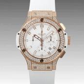 ウブロ コピー時計 ビッグバン エボリューション ゴールドダイヤモンド 301.PE.2180. RW.1704