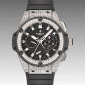 ウブロ コピー時計 キングパワー パワーリザーブ ジルコニウム ダイヤモンド 709.ZX.1770.RX.1704