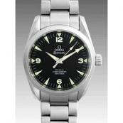 オメガ スーパーコピー時計 シーマスターコーアクシャルアクアテラレイルマスター(M) 2504-52