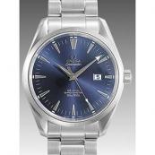 オメガ スーパーコピー時計 シーマスターコーアクシャル アクアテラ 2502-80