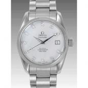オメガ 時計 腕時計スーパーコピー シーマスター コーアクシャル アクアテラ 2504-75