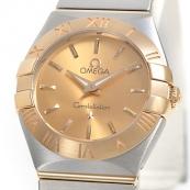 ブランド オメガ 腕時計スーパーコピー通販 コンステレーション ブラッシュクォーツ 123.20.24.60.08.001