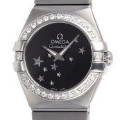 ブランド オメガ 腕時計スーパーコピー通販 コンステレーション ブラッシュクォーツ 123.15.24.60.01.001