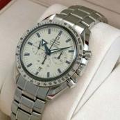 ブランド オメガ 腕時計スーパーコピー通販 スピードマスター ブロードアロー ホワイト文字盤 3551-20