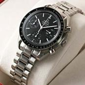 ブランド オメガ 腕時計スーパーコピー通販 スピードマスター オートマティック リデュースド ブラックダイアル 3570-50