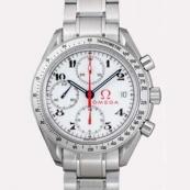 人気 オメガ時計ブランド スピードマスター ホワイトアラビア 3515.20