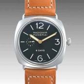 パネライ(PANERAI) スーパーコピー時計 ラジオミール 8デイズ PAM00190
