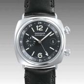 パネライ(PANERAI) スーパーコピー時計 ラジオミール GMT PAM00184