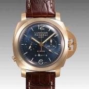 パネライ(PANERAI) ルミノールスーパー時計スーパーコピー1950 8デイズクロノ モノプルサンテGMT PAM00277