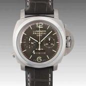 パネライ(PANERAI) ルミノールスーパー時計スーパーコピー1950 8デイズクロノ モノプルサンテGMT PAM00311