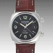 パネライ(PANERAI) スーパーコピー時計 ラジオミール GMTアラーム PAM00355