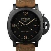 パネライ(PANERAI) ルミノールスーパー時計スーパーコピー1950 3デイズ GMT オートマチック チェラミカ PAM00441