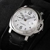 PANERAIパネライ ルミノールスーパー時計スーパーコピーマリーナ ホワイトダイアル PAM00049